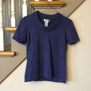 Alfani 100% Pure Wool Short Sleeve Shirt